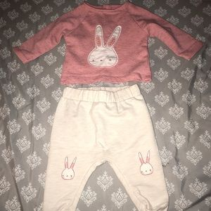 Baby Girl Sweat Suit Outfit